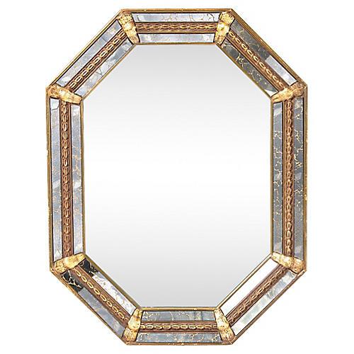 Marbleized Mirror