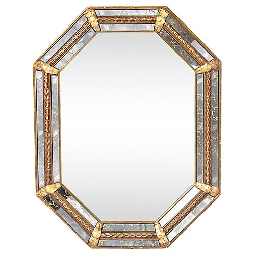 Marbleized Mirror