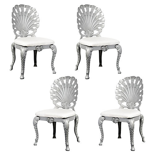 Grotto Side Chairs, S/4