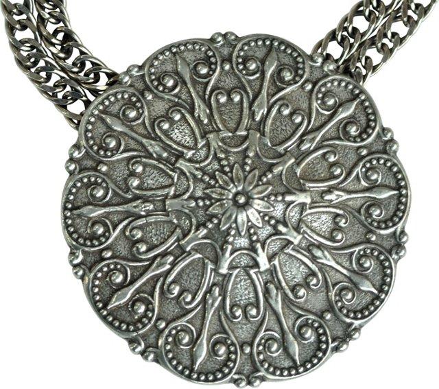 Ben-Amun Medallion Necklace