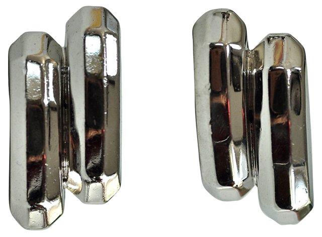 Whiting & Davis Geometric Earrings