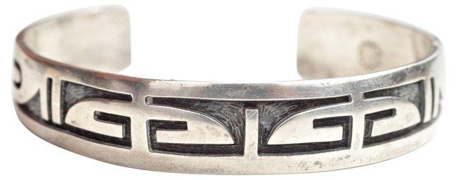 Hopi Sterling Silver Bracelet