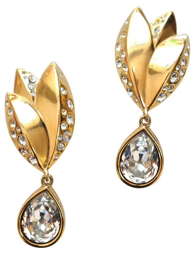 Givenchy Crystal Earrings