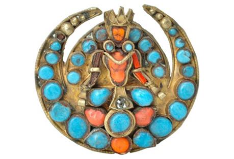 Nepalese Bodhisattva Pin
