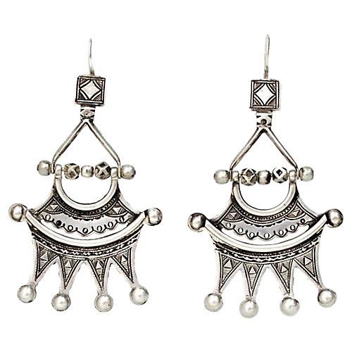 Tuareg Sterling Silver Earrings
