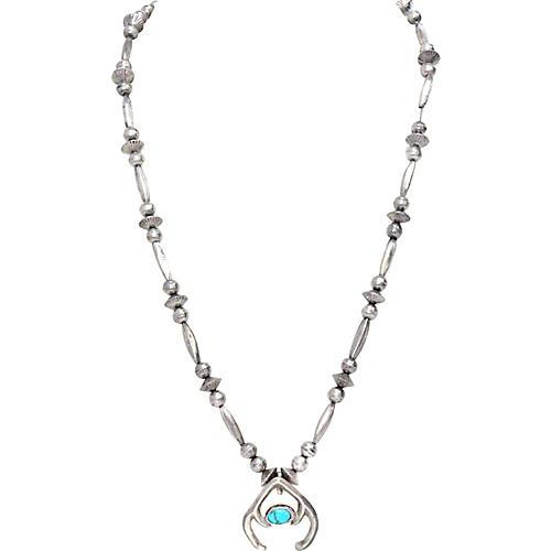 Small Squash Blossom Necklace
