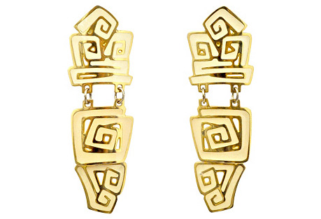 Tribal Inspired Dangle Earrings
