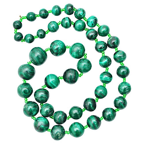 Malachite Strand Necklace