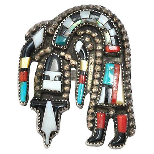 Zuni Rainbow Dancer Ring