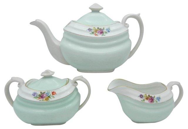 Copeland Tea Set, 3 Pcs
