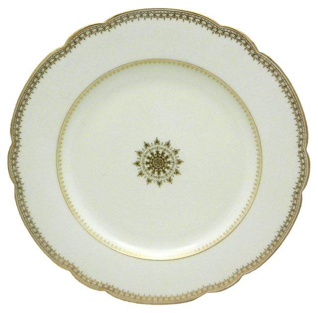 Limoges Porcelain Charger, C. 1920