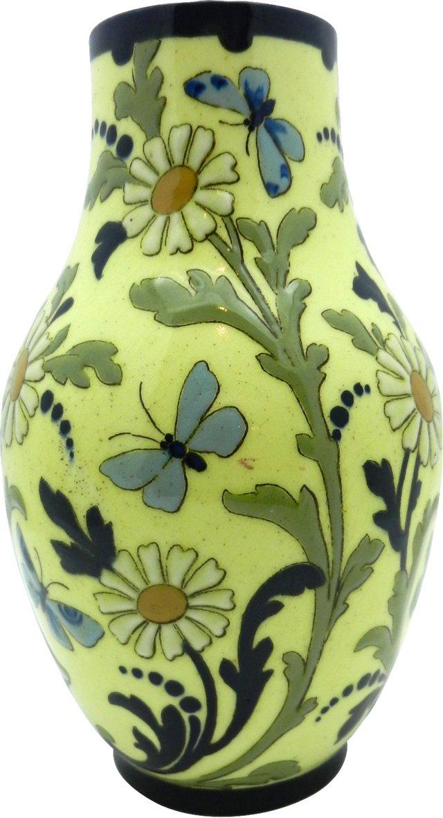 French Art Pottery Vase