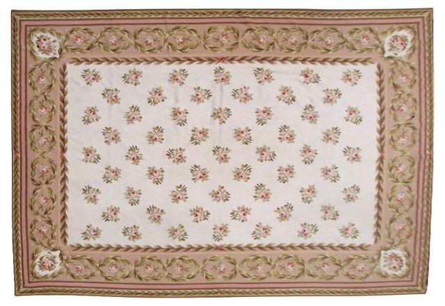 Aubusson Needlepoint Carpet, 10' x 14'