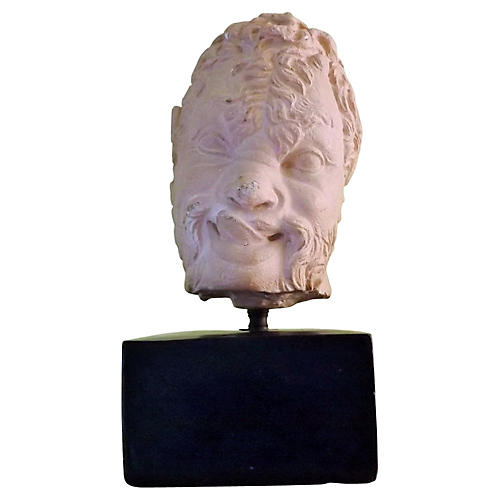 Mounted Bust of Satyr
