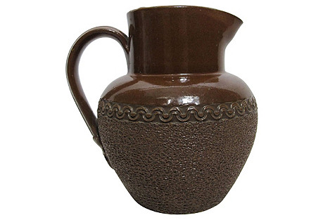 English Stoneware Jug