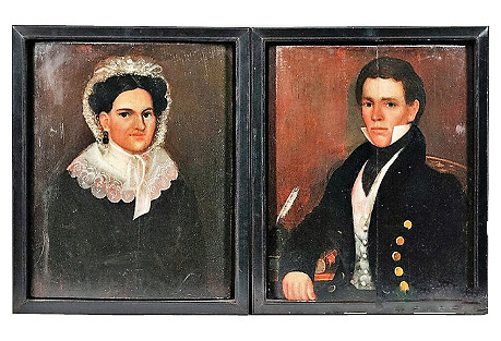 American Folk Portraits by Thomas Ware