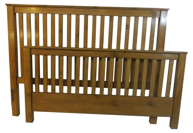 Pine Bed, King-Size