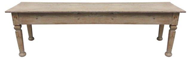 19th-C.  English Farm Table