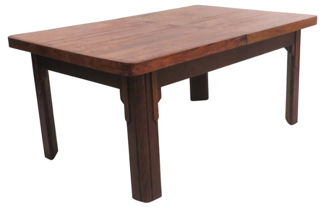 Craftsman Style Coffee Table by Lane