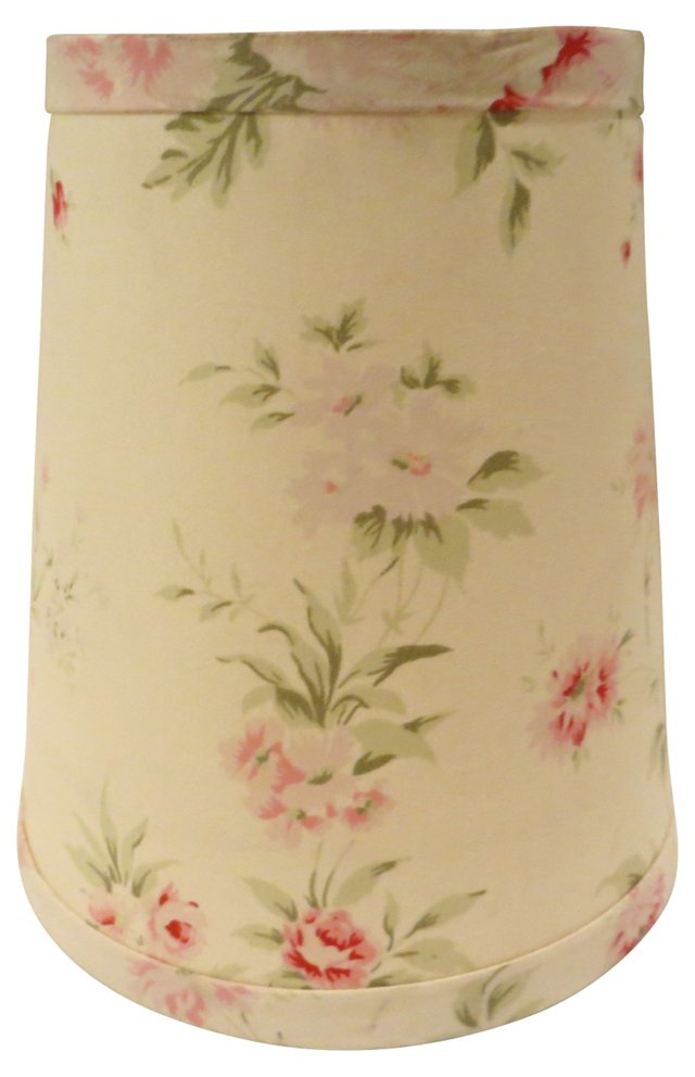 Pink Flowers Lampshade