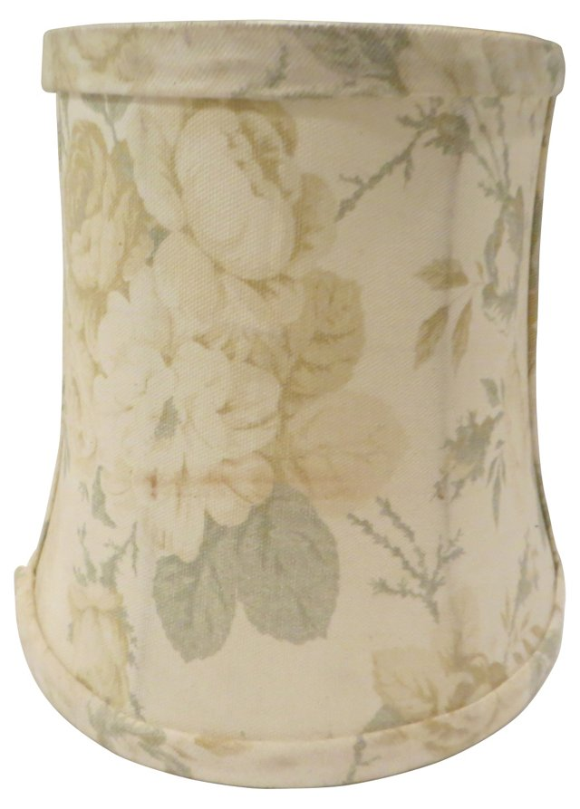 Yellow Roses Linen Shade