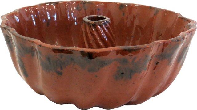 18th-C. Redware Mold