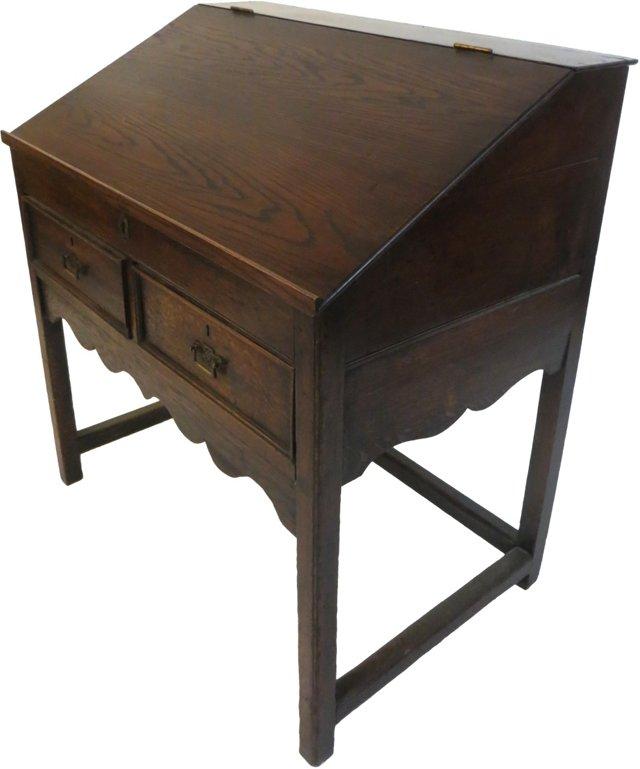 Early-19th-C. English School Desk