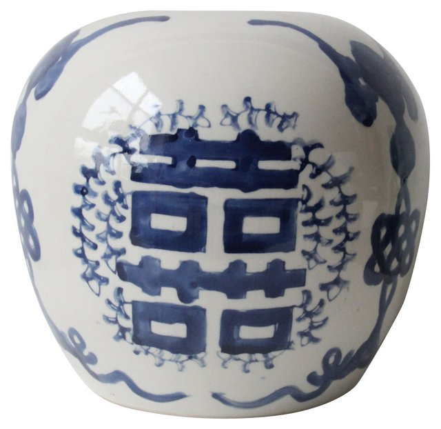 Blue & White Chinese Vase