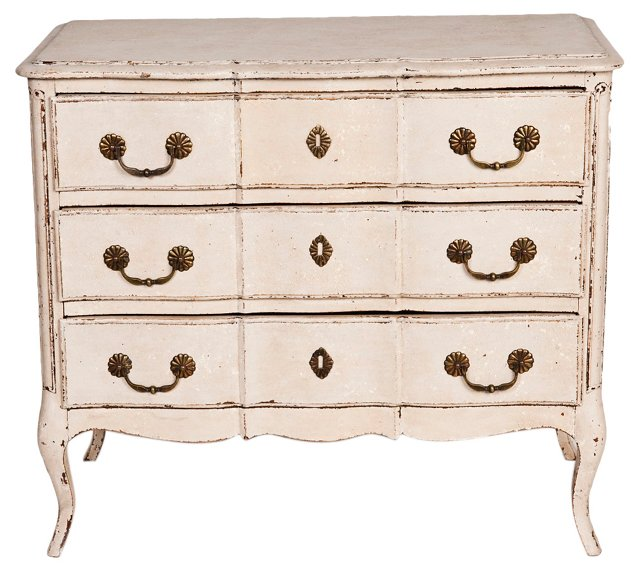 French 3-Drawer  Commode