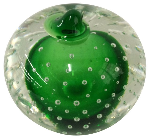Controlled Bubble Paperweight