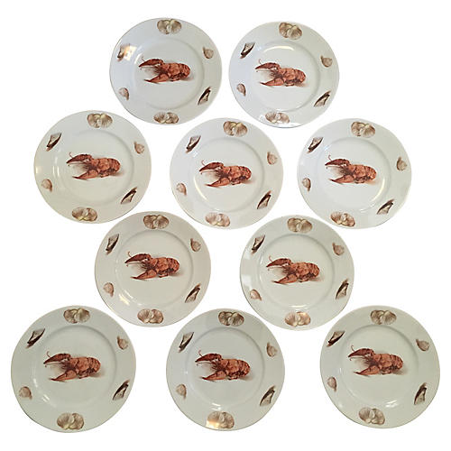Lobster Plates, S/10