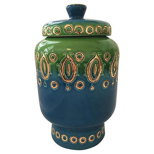 Midcentury Italian Jar