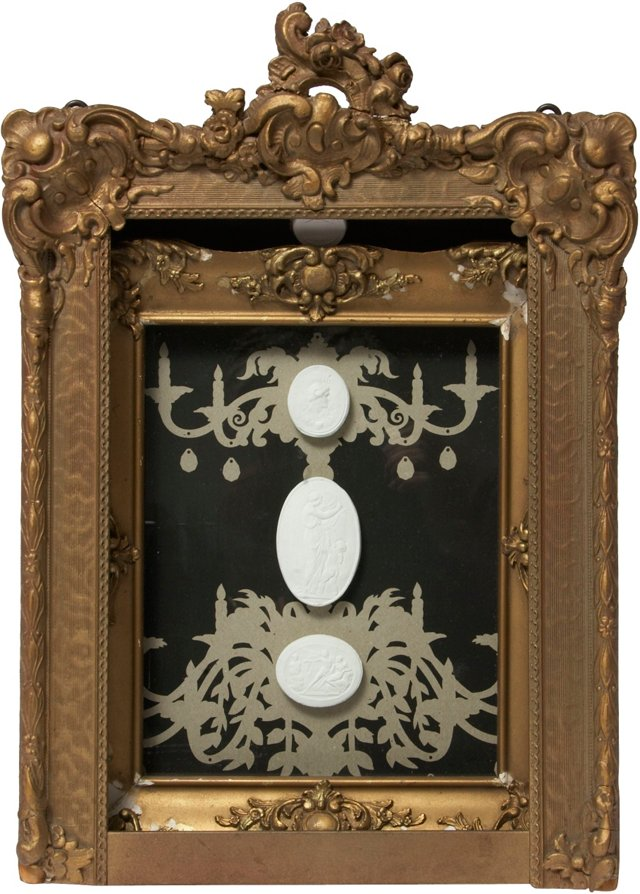Framed Intaglio   Assemblage