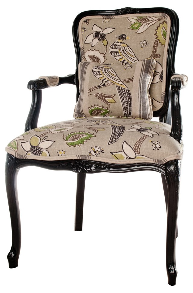 Bird & Butterly Chair w/ Pillow