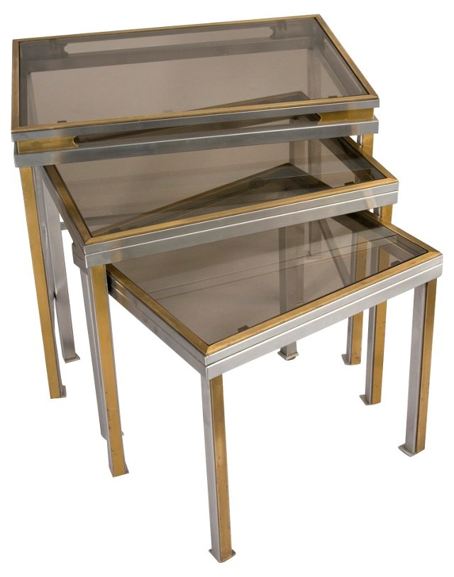 Nesting Tables by Guy Lefevre, S/3