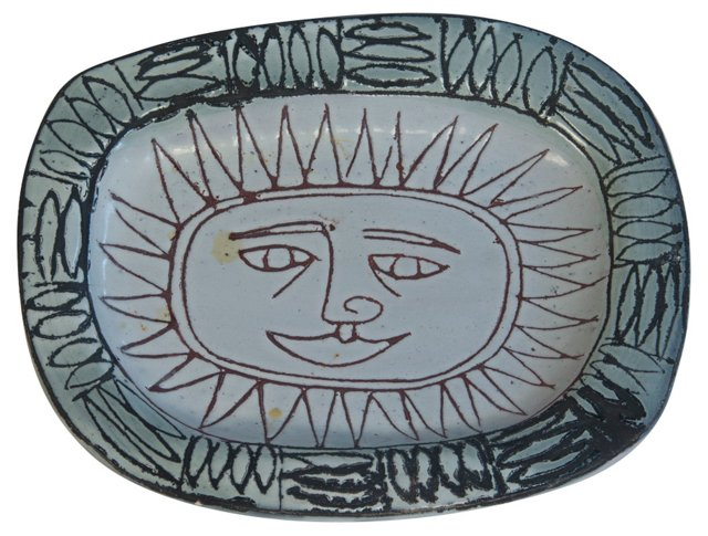 Sun Dish by Jacques Pouchain
