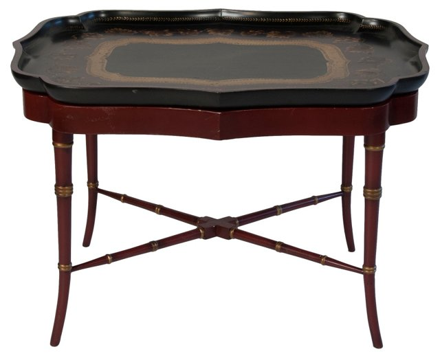 Chinese-Style Tray Table
