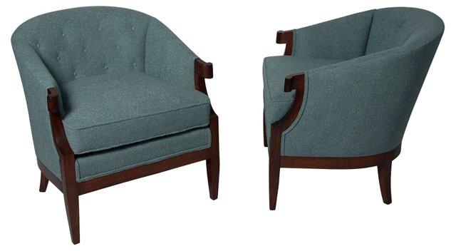 Salon Chairs, Pair