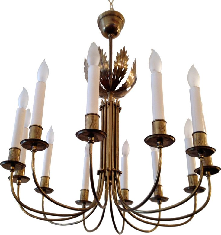 1940s Parzinger-Style Chandelier