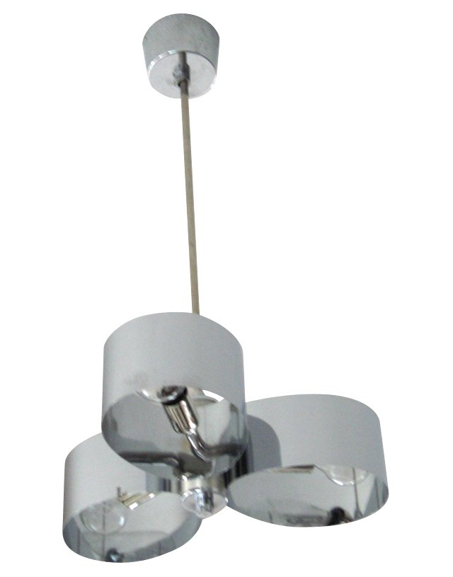1960s French Space-Age Pendant Light
