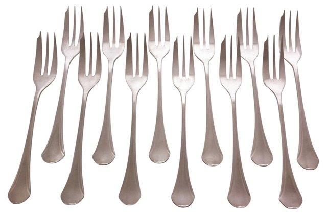 Art Deco Forks, S/12