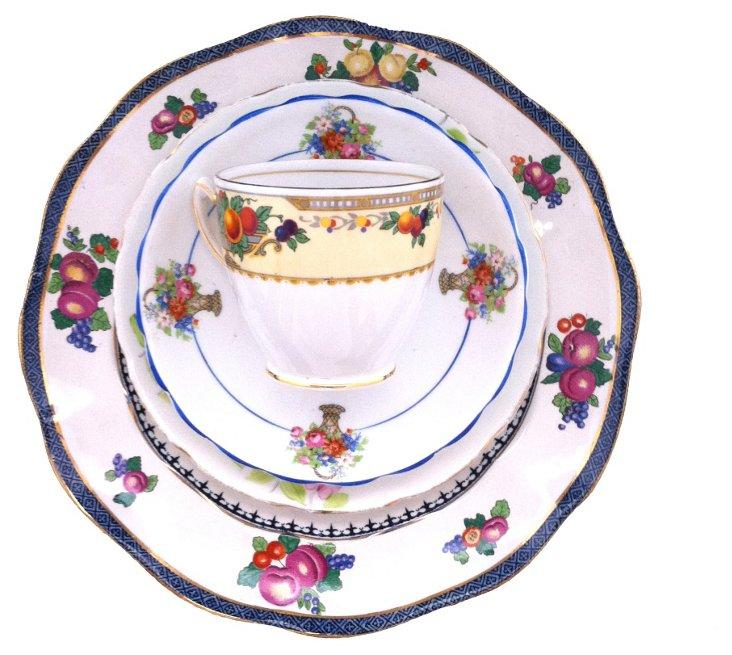 Fruit Basket China, 4 Pcs