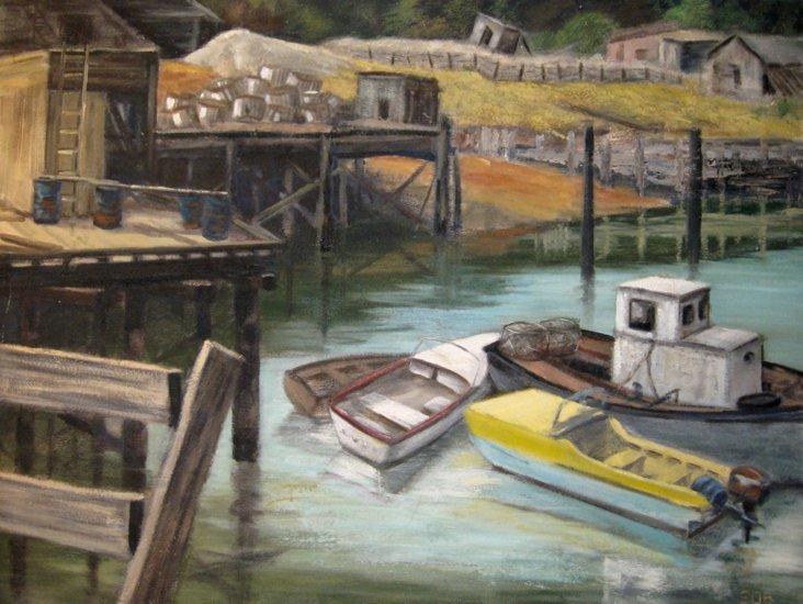 Harbor by Sue Benitez