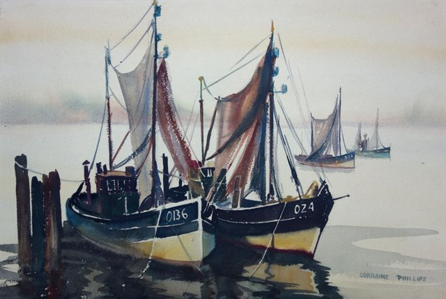 Boats by Lorraine Philips