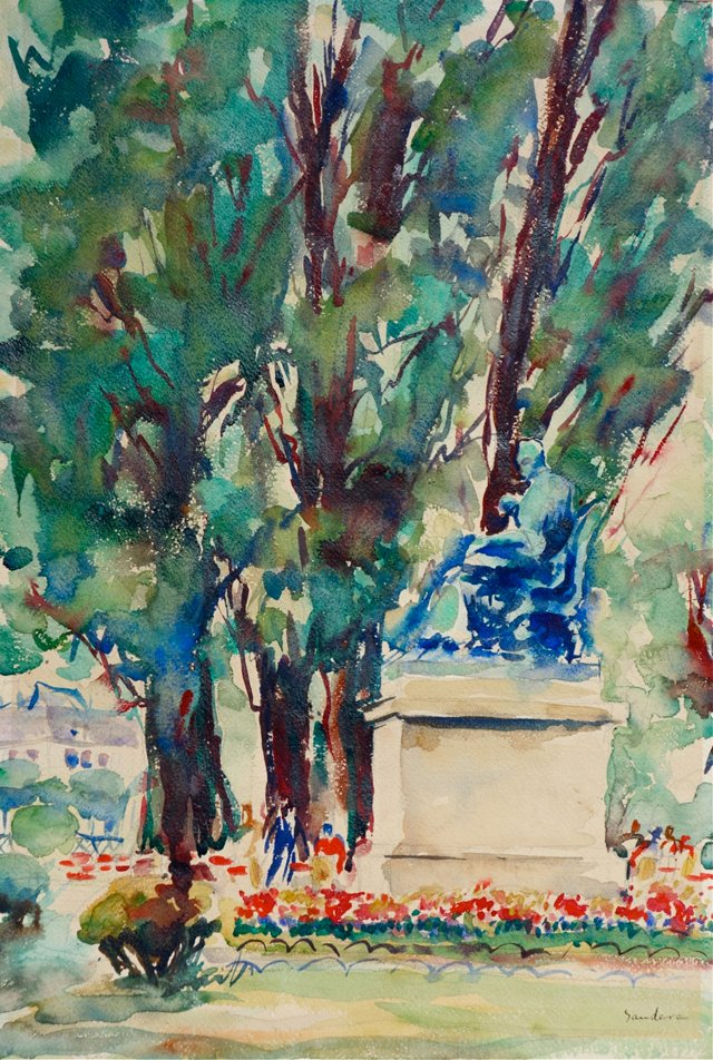 Monument Watercolor