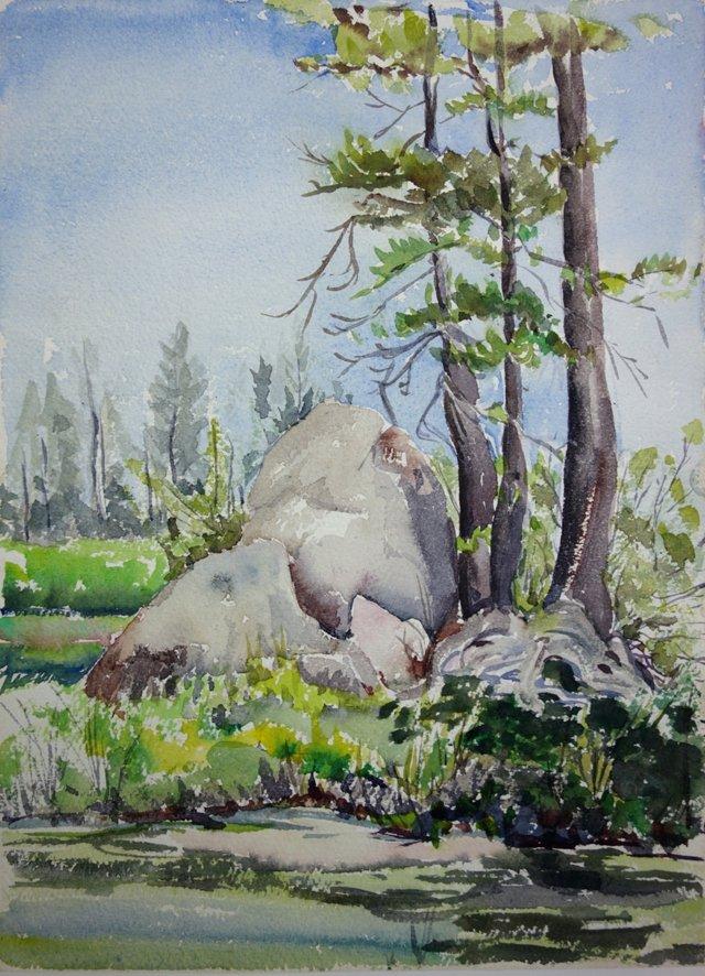 Verdant Watercolor