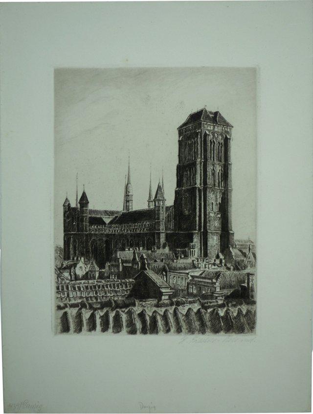 St Mary's Church, Danzig, 1939