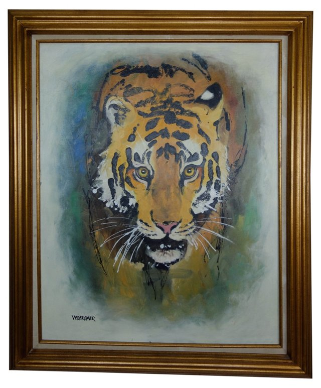 Tiger by Wayne Weberbauer