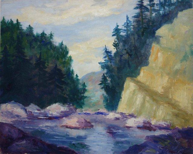 Woodland Rapids by Joann Meneice