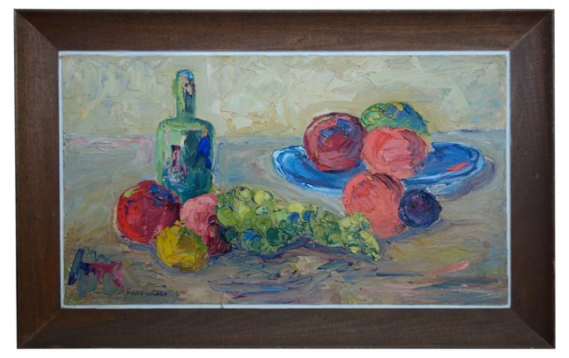 Midcentury Still Life by M. Edwards